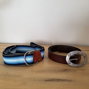 Gap belt set